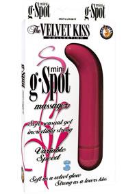 Velvet Kiss Mini G Spot Pink