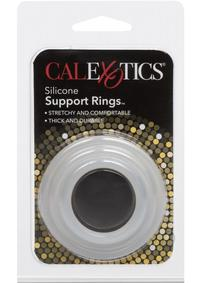 Silicone Support Rings - Clear
