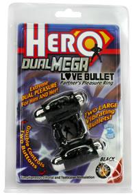 Hero Dual Mega Love Bullet - Black