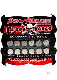 Cross Bone Lr44 Alkaline Batteries