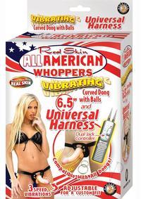All American Whopper Vib 6.5 W/harness