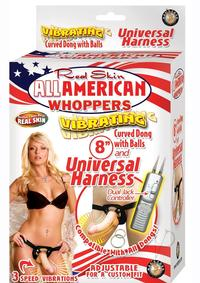 All American Whopper Vib 8 W/harness