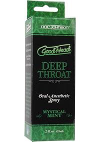 Goodhead Deep Throat Spray Mystical Mint