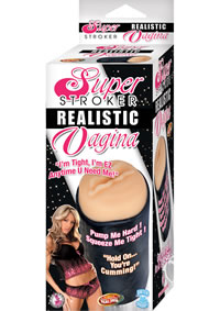 Super Stroker Realistic Vagina Flesh