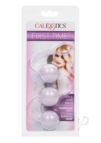 First Time Love Balls Triple Loverpurple