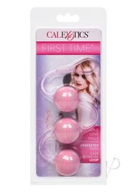 First Time Love Balls Triple Lover Pink