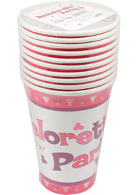 Bachelorette Party Cups 10pc