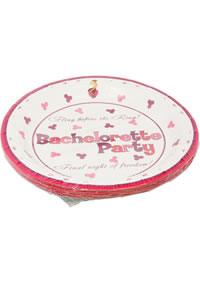 Bachelorette Party 7 Plate 10pc