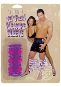 Lil Pearl Pleasure Sleeve Purple