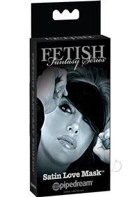 Ffle Satin Love Mask Black