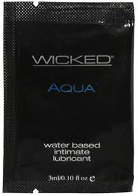 Wicked Aqua Unscented Foil 144/bag