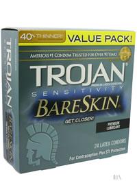 Trojan Sensitivity Bareskin 24s