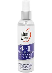 Aande 4 In 1 Pure and Clean Mist Cleaner 4oz
