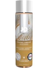 Jo H2o Flavored Lube Vanilla Cream 4oz