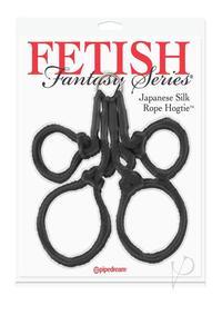 Ff Japanese Silk Rope Hogtie Black