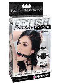 Ff Extrm Silicone Breathable Ball Gag Sm