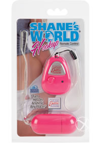 Shanes World Hookup Remote Cntrl Pink