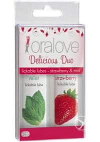 Oralove Delicious Duo Strawbery/mint Set