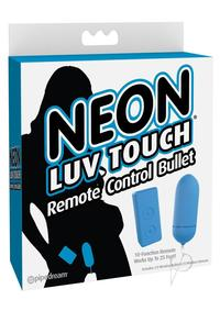 Neon Luv Touch Remote Bullet Blue