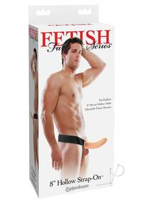 Ff Hollow Strap On 8` Flesh