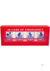 In Case Of Emergency Shot Glass Set