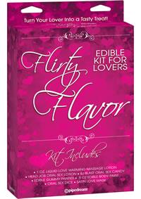 Flirty Flavor Kit For Lovers