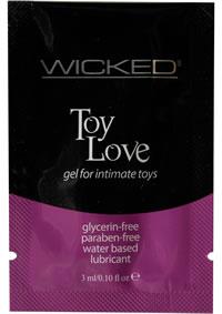 Wicked Toy Love Gel Foil Pks 144/bag