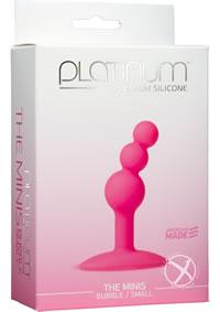 Platinum Mini Bubble Small Pink