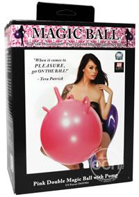 Pink Diamond Double Magic Ball Pink