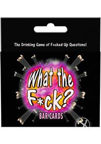 Wtf Bar Cards