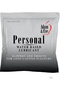 Aande Personal Lube Foil Pack 2.5ml(loose)