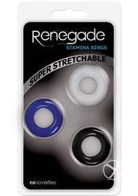 Renegade Stamina Rings Set Assorted
