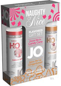 H20 Flavor Candy Cane Gingerbread Set