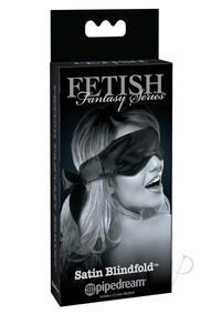 Ffle Satin Blindfold Black