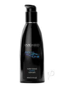 Wicked Aqua Chill Cooling Lube 2oz