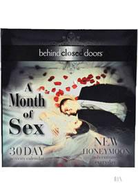 Month Of Sex Honeymoon Ed