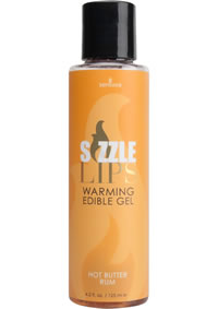 Sizzle Lips Warming Gel Butter Rum 4.2