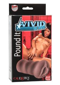 Vivid Raw Pound It Pussy Black