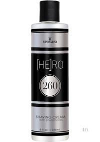 Hero 260 Pheromone Shave Cream 8oz