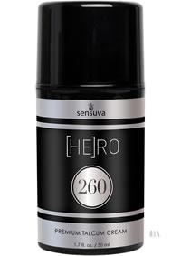 Hero 260 Talcum Cream For Men 1.7oz
