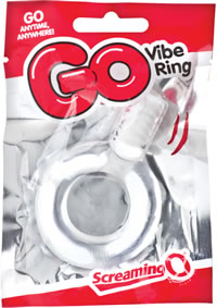 Go Vibe Ring Pop Clear (loose)