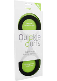 Quickie Cuffs Large Black