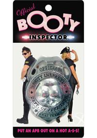 Booty Inspector Badge