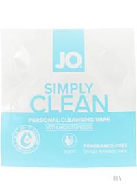 Jo Simply Clean Cleansing Wipes 24/disp