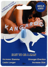 Kangaroo For Him Mega 3000 1 Pill Count