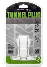 Tunnel Plug Medium Clear