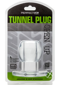 Tunnel Plug Large Clear