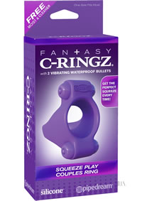 Fcr Sqeeze Play Couples Ring Purple