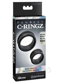 Fcr Max Width Silicone Rings Black