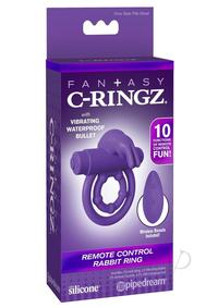 Fcr Remote Control Rabbit Ring Purple